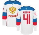 Cheap Team Russia #41 Nikolay Kulemin White 2016 World Cup Stitched NHL Jersey
