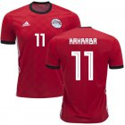 Cheap Egypt #11 Kahraba Red Home Soccer Country Jersey