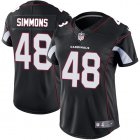 Cheap Nike Cardinals #48 Isaiah Simmons Black Alternate Women's Stitched NFL Vapor Untouchable Limited Jersey
