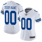 Cheap Nike Dallas Cowboys Customized White Stitched Vapor Untouchable Limited Women's NFL Jersey
