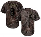 Cheap White Sox #8 Bo Jackson Camo Realtree Collection Cool Base Stitched Youth MLB Jersey
