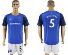 Cheap Everton #5 Williams Home Soccer Club Jersey