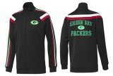 Cheap NFL Green Bay Packers Heart Jacket Black