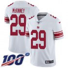 Cheap Nike Giants #29 Xavier McKinney White Youth Stitched NFL 100th Season Vapor Untouchable Limited Jersey