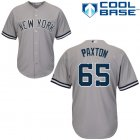 Cheap Yankees #65 James Paxton Grey New Cool Base Stitched Youth MLB Jersey