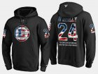 Cheap Bruins #24 Terry O'reilly NHL Banner Wave Usa Flag Black Hoodie