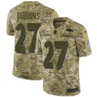 Cheap Nike Ravens #27 J.K. Dobbins Camo Youth Stitched NFL Limited 2018 Salute To Service Jersey