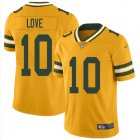 Cheap Nike Packers #10 Jordan Love Gold Youth Stitched NFL Limited Inverted Legend Jersey