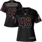 Cheap Nike Cardinals #48 Isaiah Simmons Black Women's NFL Fashion Game Jersey