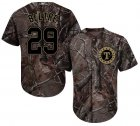 Cheap Rangers #29 Adrian Beltre Camo Realtree Collection Cool Base Stitched Youth MLB Jersey