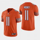 Cheap Men's Chicago Bears #11 Darnell Mooney Orange 2020 Draft Vapor Limited Jersey