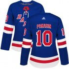Cheap Adidas Rangers #10 Artemi Panarin Royal Blue Home Authentic Women's Stitched NHL Jersey