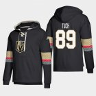 Cheap Vegas Golden Knights #89 Alex Tuch Black adidas Lace-Up Pullover Hoodie