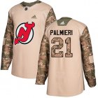 Cheap Adidas Devils #21 Kyle Palmieri Camo Authentic 2017 Veterans Day Stitched Youth NHL Jersey