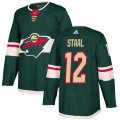 Cheap Adidas Wild #12 Eric Staal Green Home Authentic Stitched Youth NHL Jersey