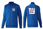 Cheap NFL New York Giants Team Logo Jacket Blue_2