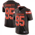 Cheap Nike Browns #95 Myles Garrett Brown Team Color Men's Stitched NFL Vapor Untouchable Limited Jersey