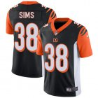 Cheap Nike Bengals #38 LeShaun Sims Black Team Color Youth Stitched NFL Vapor Untouchable Limited Jersey