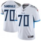 Cheap Nike Titans #70 Ty Sambrailo White Youth Stitched NFL Vapor Untouchable Limited Jersey