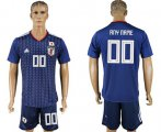 Cheap Japan Personalized Home Soccer Country Jersey
