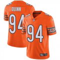 Cheap Nike Bears #94 Robert Quinn Orange Youth Stitched NFL Limited Rush Jersey