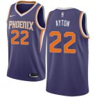 Cheap Women's Nike Phoenix Suns #22 Deandre Ayton Purple NBA Swingman Icon Edition Jersey