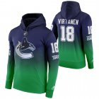 Cheap Vancouver Canucks #18 Jake Virtanen Adidas Reverse Retro Pullover Hoodie Green