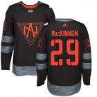 Cheap Team North America #29 Nathan MacKinnon Black 2016 World Cup Stitched NHL Jersey