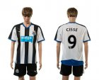 Cheap Newcastle #9 Cisse Home Soccer Club Jersey