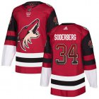 Cheap Adidas Coyotes #34 Carl Soderberg Maroon Home Authentic Drift Fashion Stitched NHL Jersey