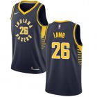 Cheap Nike Pacers #26 Jeremy Lamb Navy Blue NBA Swingman Icon Edition Jersey