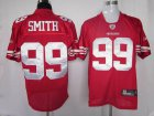 Cheap 49ers #99 Aldon Smith Red Stitched NFL Jersey