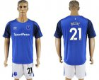 Cheap Everton #21 Besic Home Soccer Club Jersey