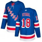 Cheap Adidas Rangers #18 Marc Staal Royal Blue Home Authentic Stitched Youth NHL Jersey