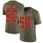 Cheap Nike Chiefs #50 Willie Gay Jr. Olive Youth Stitched NFL Limited 2017 Salute To Service Jersey