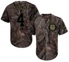 Cheap Astros #4 George Springer Camo Realtree Collection Cool Base Stitched Youth MLB Jersey