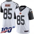 Cheap Nike Bengals #85 Tee Higgins White Youth Stitched NFL Limited Rush 100th Season Jersey