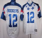 Cheap Packers #12 Aaron Rodgers White 2012 Pro Bowl Stitched NFL Jersey