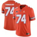 Cheap Florida Gators 74 Jack Youngblood Orange College Football Jersey