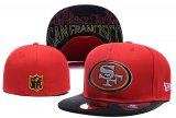 Cheap San Francisco 49ers fitted hats03