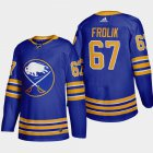 Cheap Buffalo Sabres #67 Michael Frolik Men's Adidas 2020-21 Home Authentic Player Stitched NHL Jersey Royal Blue