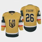 Cheap Vegas Golden Knights #26 Paul Stastny Youth 2020-21 Player Alternate Stitched NHL Jersey Gold