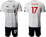 Cheap Liverpool #17 Klavan Away Soccer Club Jersey