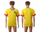 Cheap Romania Blank Home Soccer Country Jersey