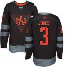 Cheap Team North America #3 Seth Jones Black 2016 World Cup Stitched NHL Jersey