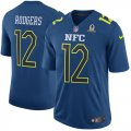 Cheap Nike Packers #12 Aaron Rodgers Navy Men's Stitched NFL Game NFC 2017 Pro Bowl Jersey