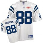 Cheap Colts #88 Marvin Harrison White With Super Bowl Patch Stitched NFL Jersey