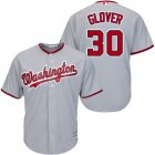 Cheap Nationals #30 Koda Glover Grey New Cool Base Stitched MLB Jersey
