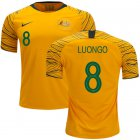 Cheap Australia #8 Luongo Home Soccer Country Jersey