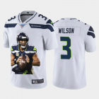 Cheap Seattle Seahawks #3 Russell Wilson Nike Team Hero Vapor Limited NFL 100 Jersey White